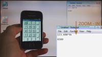 Numeric keypad use case
